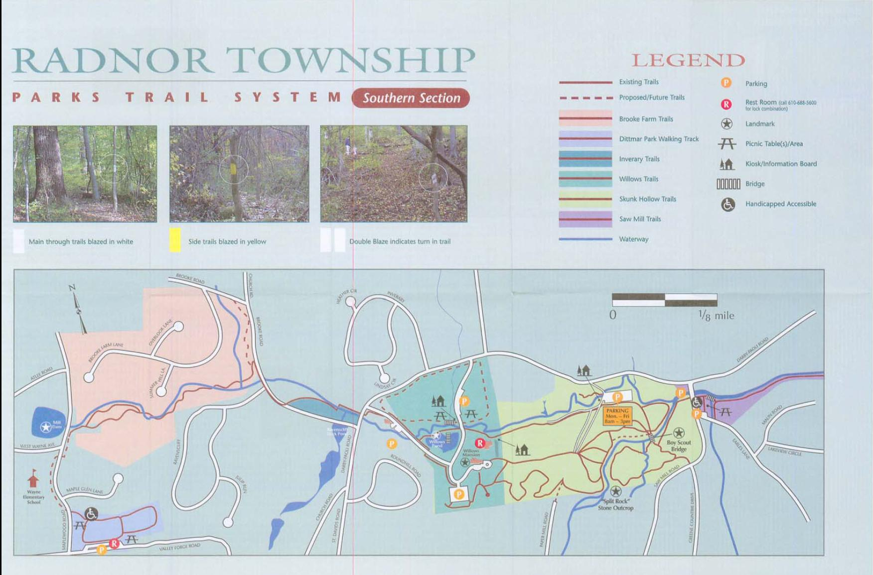 radnor township trail map1